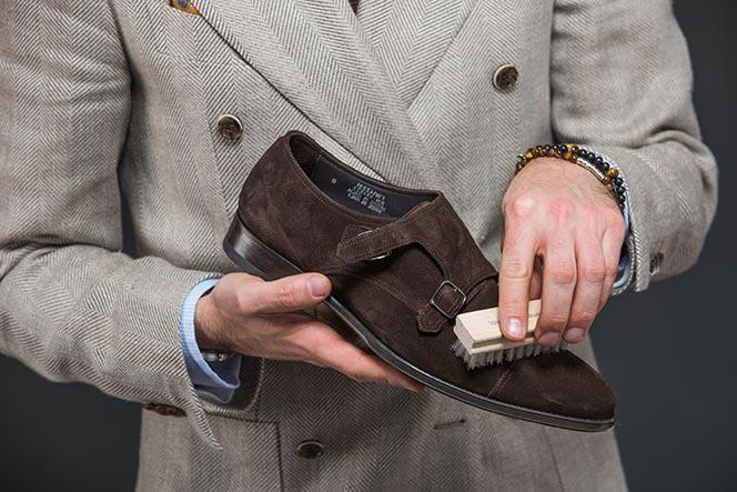 как восстановить форму замшевой обуви