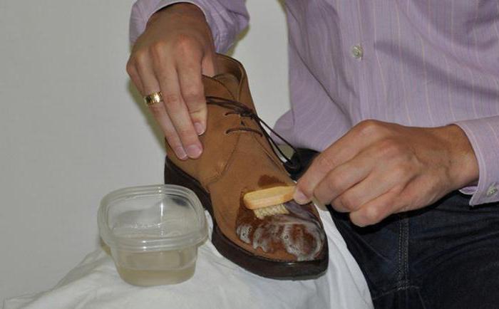 чем чистить замшевую обувь в домашних условиях
