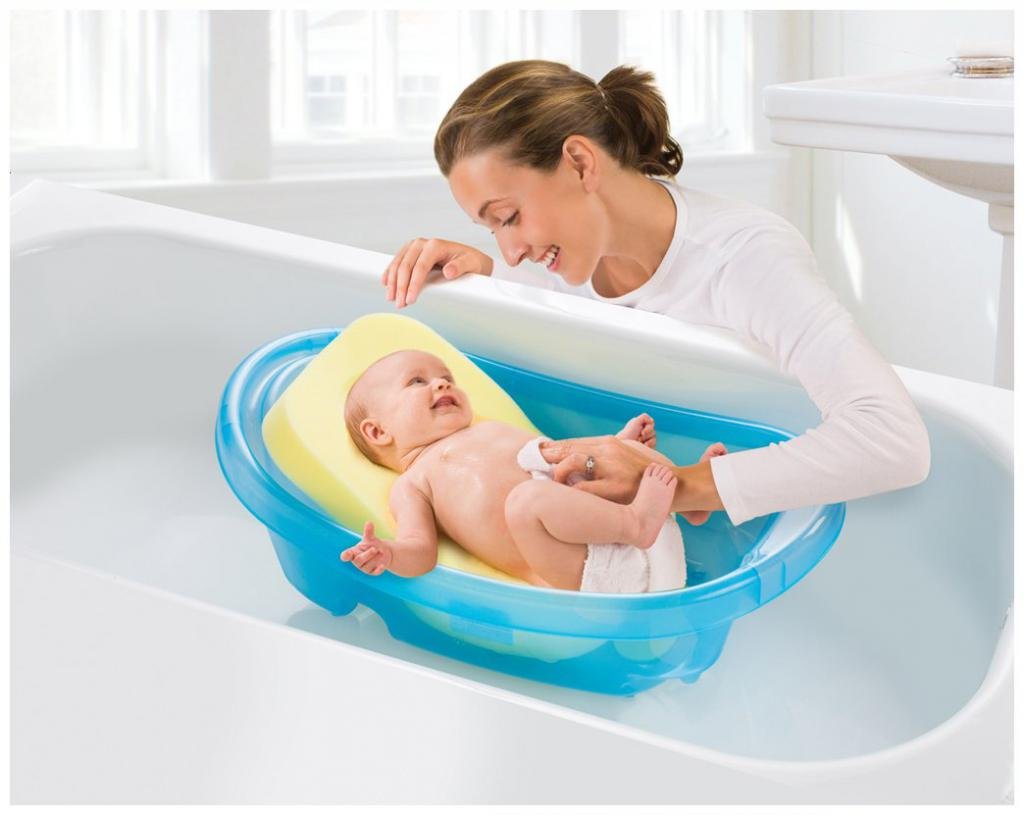 Купать младенца в картинках