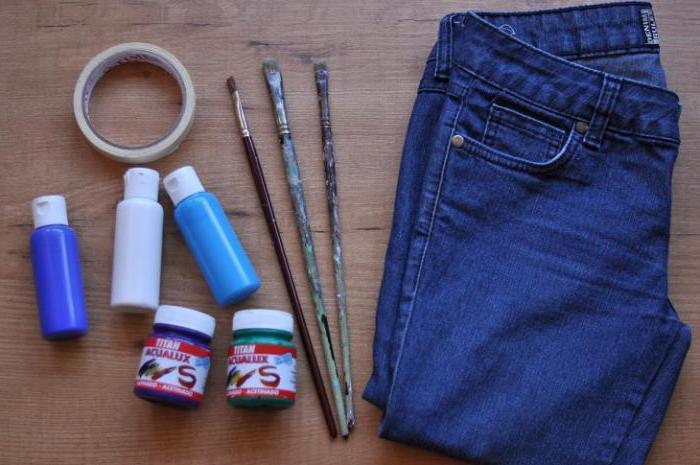 Как перекрасить джинсы в домашних условиях