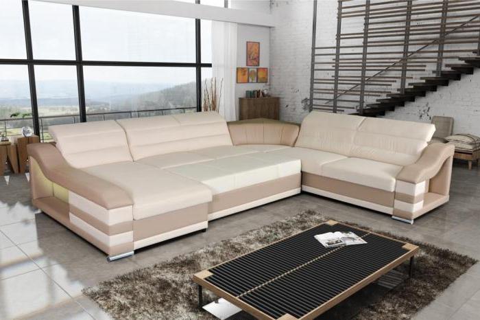 отзывы угловой кожаный диван