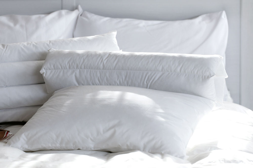 Dry cleaning pillows
