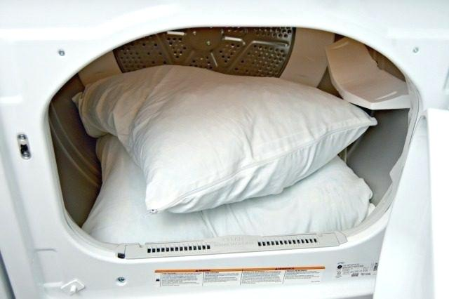 Dry cleaning feather pillows reviews