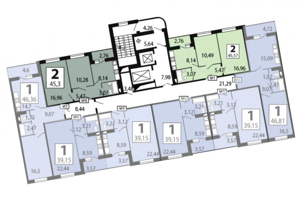 Жк люберцы фото планировок квартир