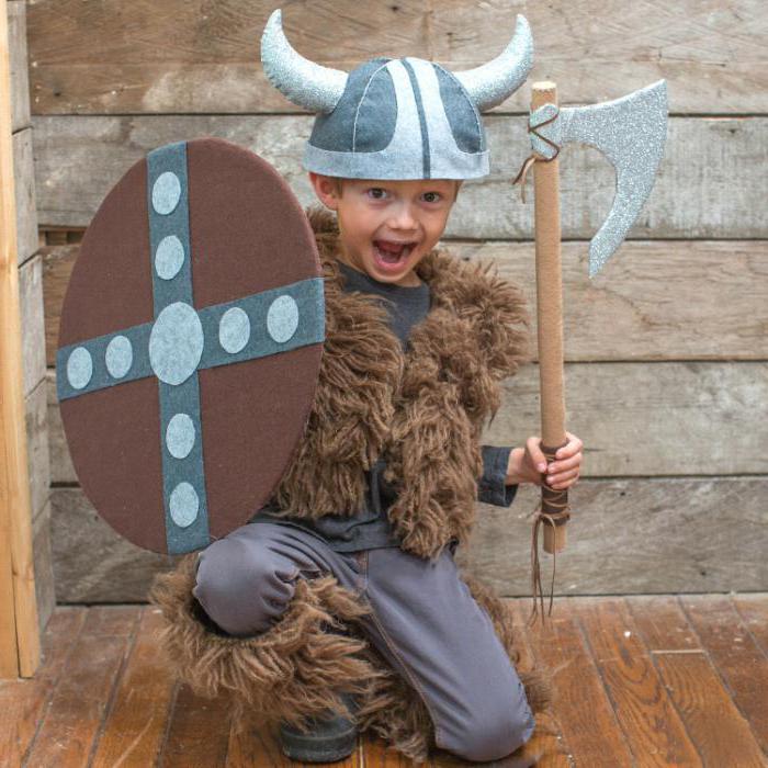 Костюм викинг