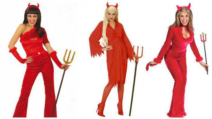 Делаем костюм дьяволицы для девушки своими руками