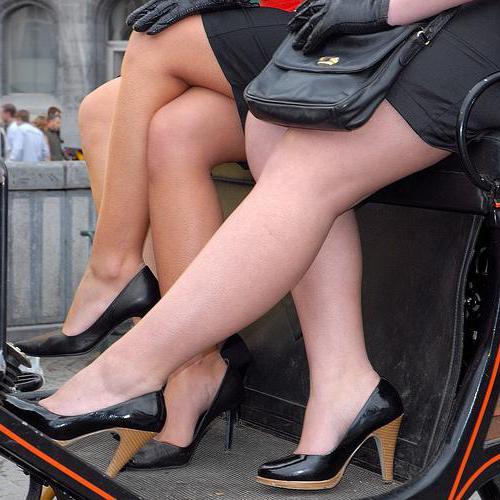 Обувь на полную ногу с высоким подъемом