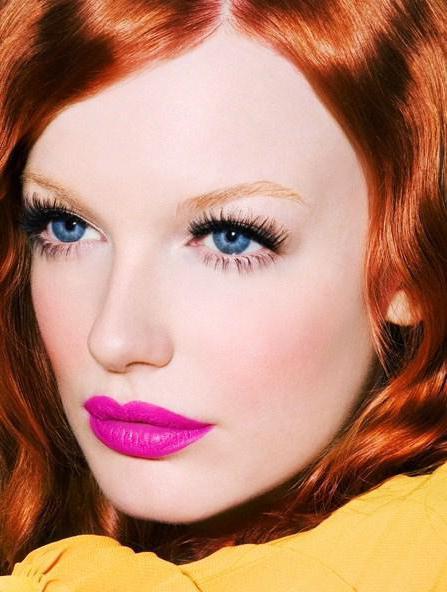 макияж под рыжие волосы
