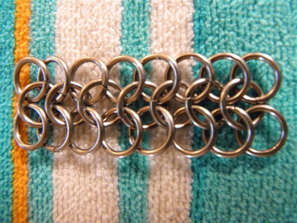 панцирное плетение кольчуги