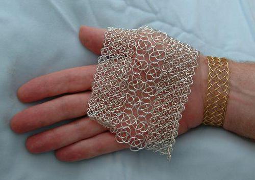 Плетение кольчуги