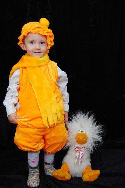 костюм колобка для мальчика своими руками