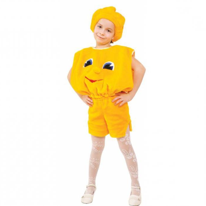 костюм колобка для мальчика своими руками как пошить