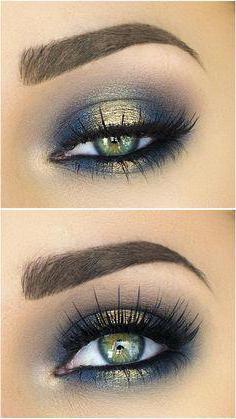 пошаговая инструкция накрасить глаза
