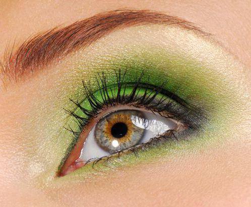 как накрасить большие глаза