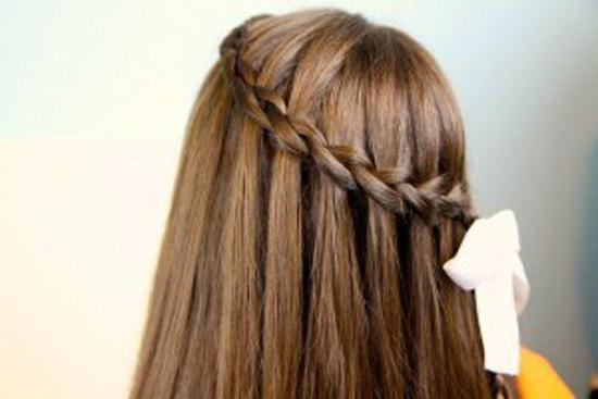 красивые прически с распущенными волосами в школу