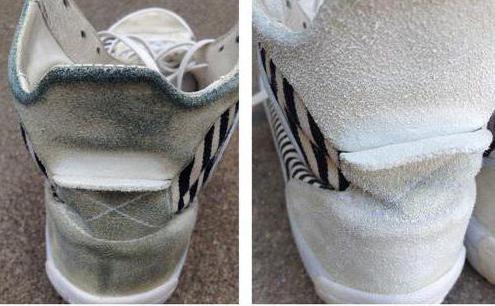 как почистить замшевые кроссовки советы