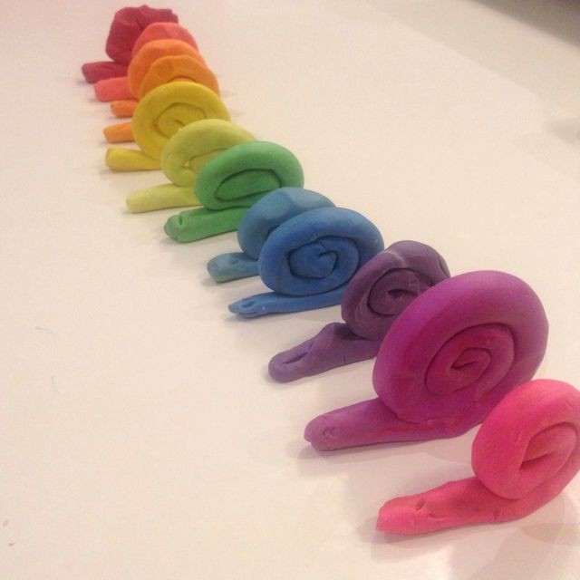 простые поделки из пластилина для малышей