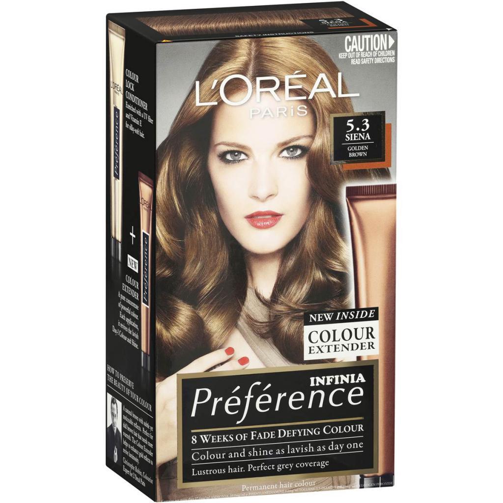 Фото и отзывы о краске для волос преферанс