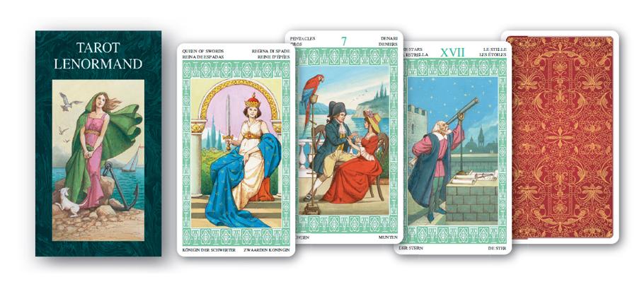 fortune telling on cards tarot lenorman