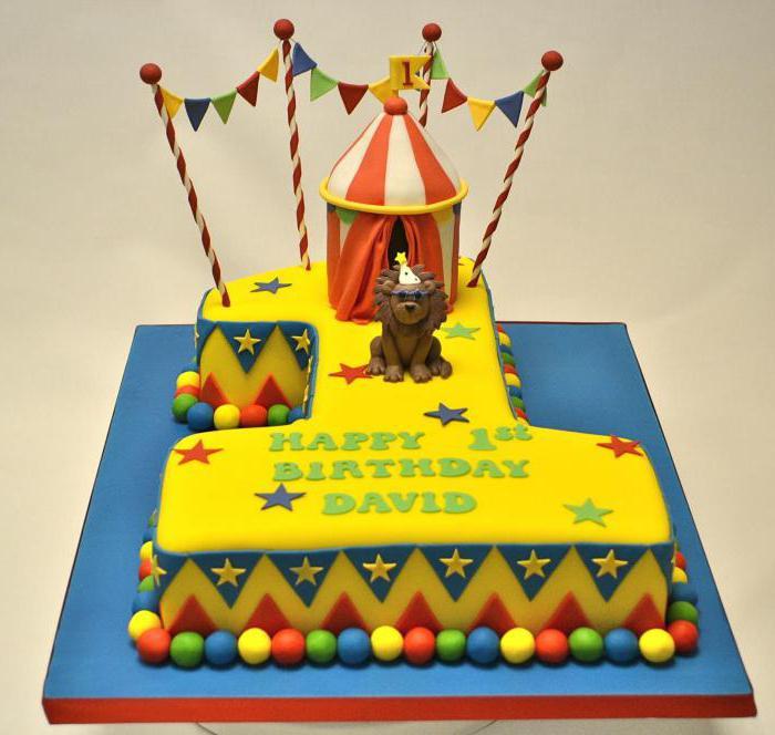 Единичка торт