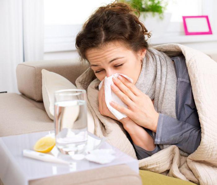 простуда при гв