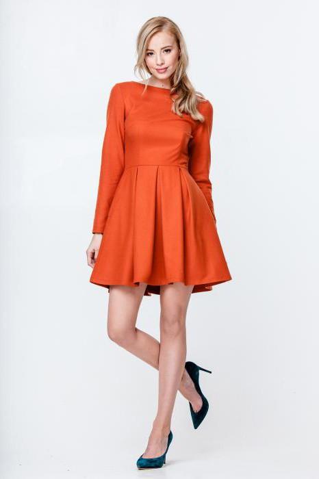 туфли под оранжевое платье