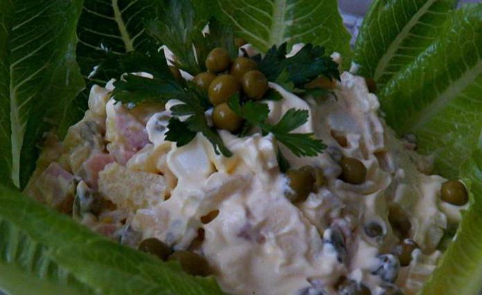 гусарский салат рецепт