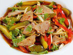 гусарский салат рецепт с курицей