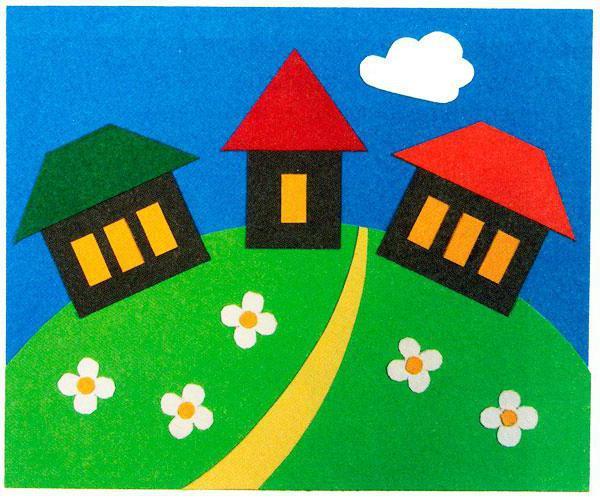Как сделать крышу дома из бумаги фото 848