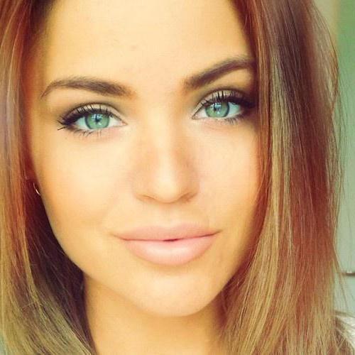 Как сделать естественный макияж для зеленых глаз