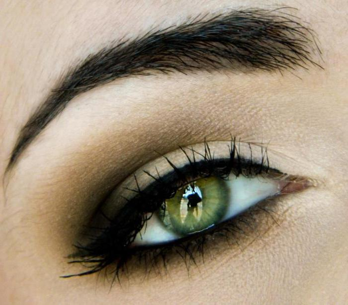 Makeup for green eyes brown hair
