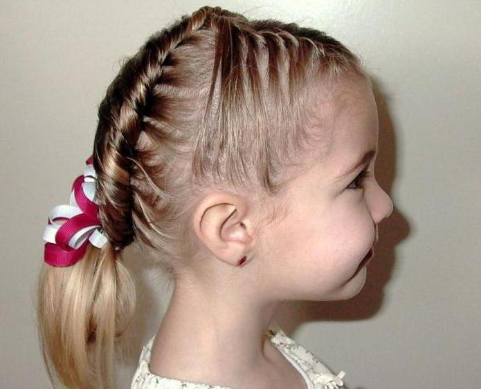 прически детские на средние волосы