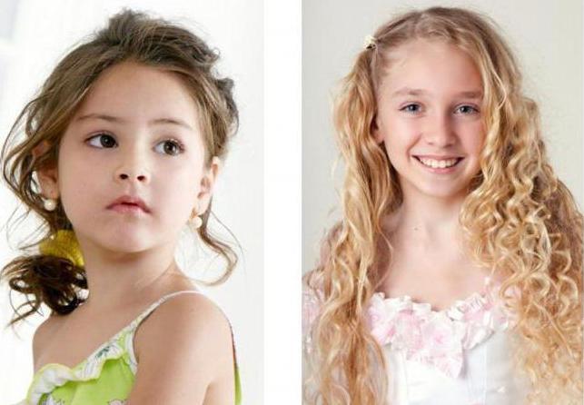 прически детские на средние волосы фото