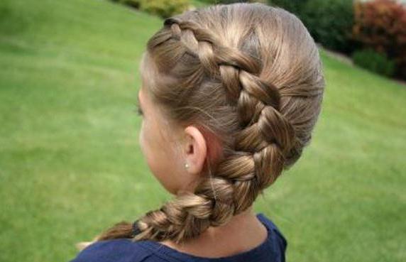 детские прически средний волос фото
