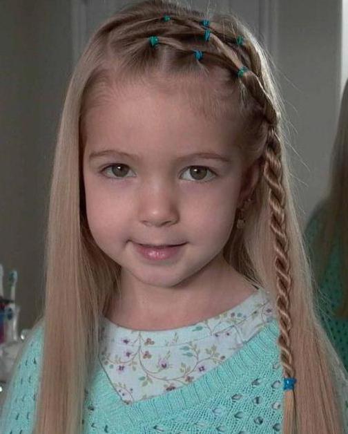 красивые детские прически на средние волосы