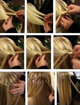 детские прически на средние волосы своими руками