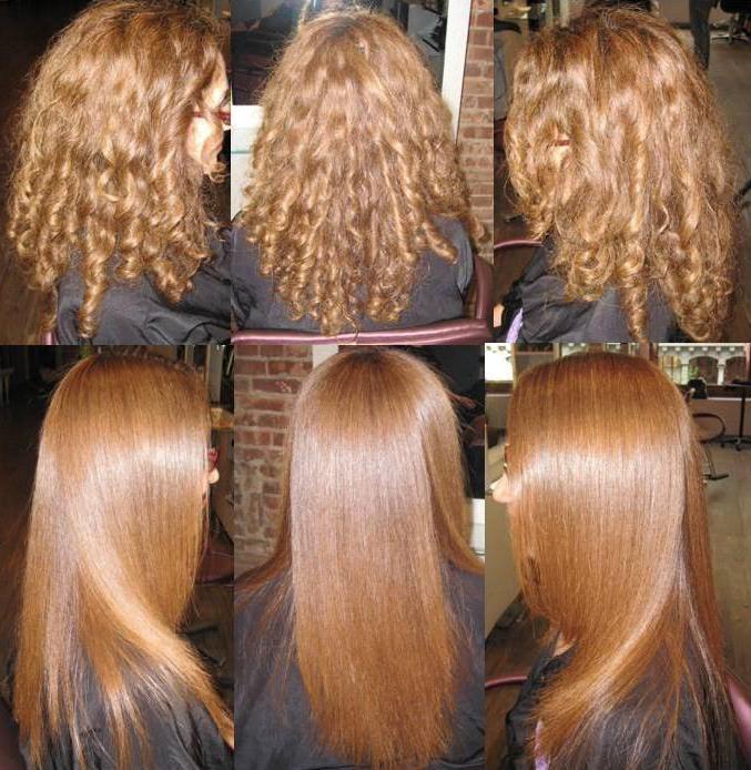 Как сделать волосы надолго прямыми