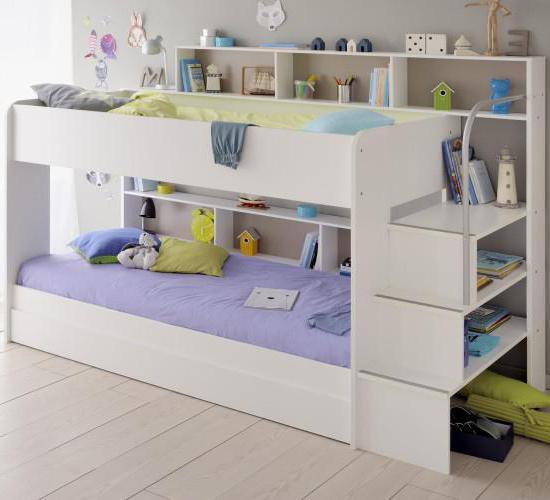 размеры двухъярусную детскую кровать своими руками