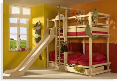 размеры двухъярусной детской кровати варианты