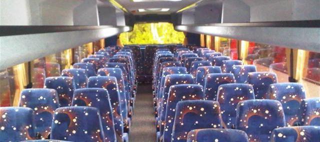 расположение мест в автобусе схема хайгер 35 мест