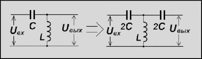 простейший фильтр высоких частот