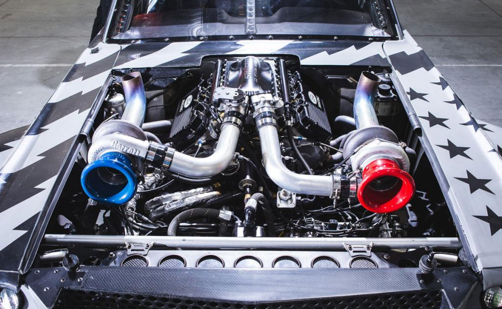 Форд Мустанг Кена Блока: технические характеристики