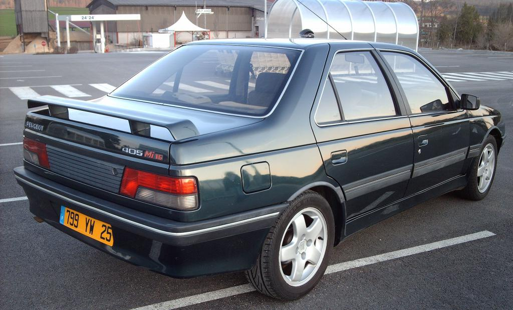 peugeot 405 specifications