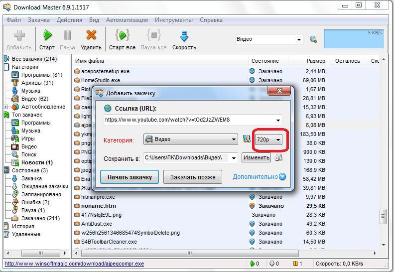 как пользоваться программой download master инструкция