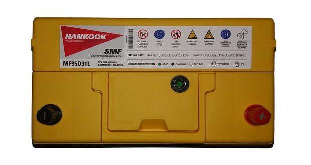 аккумулятор hankook 68