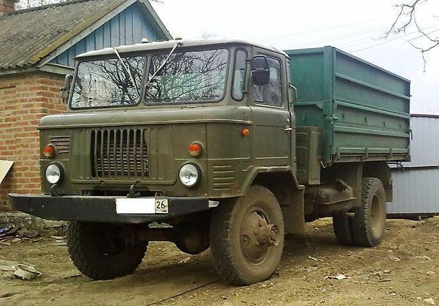 ГАЗ-66: самосвал