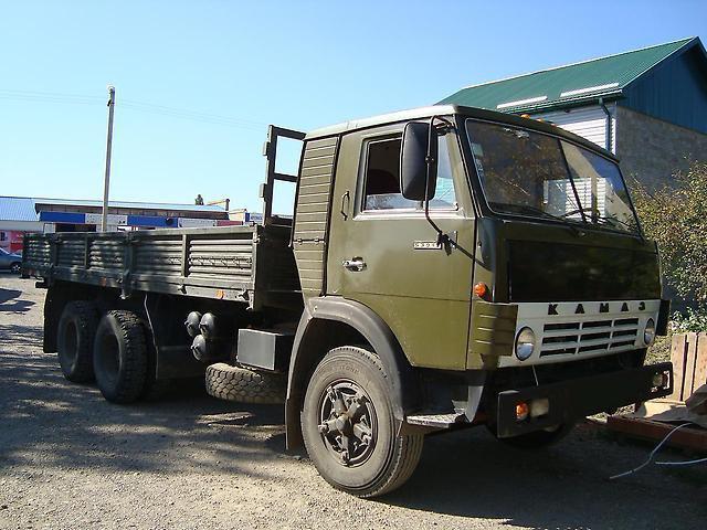 Автомобиль КамАЗ-53213