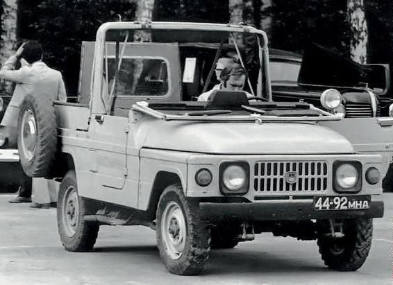 Полноприводной Москвич-2150