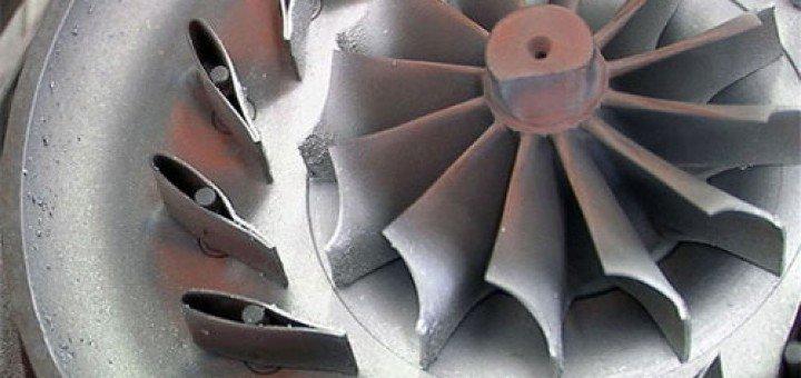 Турбина с изменяемой геометрией