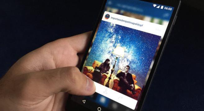 как в инстаграме добавить фото